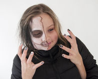 Make-up halloween Stock Image