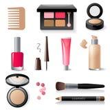 Make-up icon set vector illustration