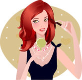 Make-up Illustration Stock Photos
