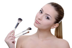 Make up issues Stock Photography