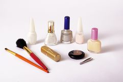 Make-up items Stock Images