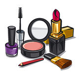 Make up kit Royalty Free Stock Photos