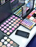 Make up kit set Stock Photo