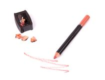 Make up liner with sharpener Stock Photography