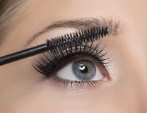 Make-up. royalty free stock photos