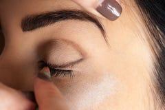 Make-up of makeup artist Stock Photos