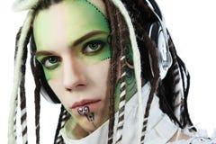 Make-up man Royalty Free Stock Photography