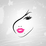 Make Up Means Good Looking And Attractive Royalty Free Stock Photography