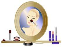 Make-up Mirror Royalty Free Stock Image