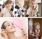 Make up mix Royalty Free Stock Image