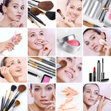 Make up mix Royalty Free Stock Image