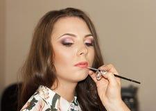 Make-up for nice girl Stock Photography
