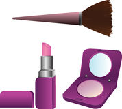 Make up objects Royalty Free Stock Photo