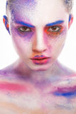 Make-up paint stock images