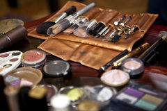 Make Up Paint Tools. Beauty Concept stock images