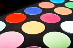 Make-up palette Stock Images