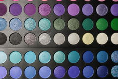 Make-up palette Stock Photos