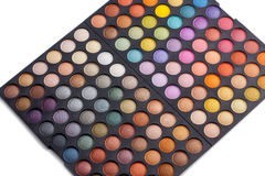 Make-up palette Stock Photo