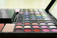 Make up palette Stock Photography