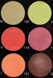 Make up palette Stock Photo