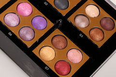 Make up palette Stock Image