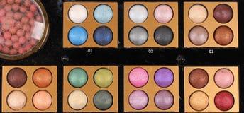 Make up palette Stock Images