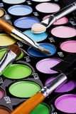 Make-up Palette Stock Image