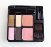 Make up palette Royalty Free Stock Images