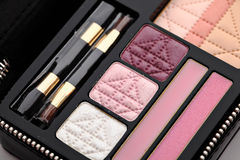 Make up palette set Stock Images
