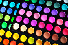 Make-up palettes Royalty Free Stock Image