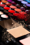 Make-up  palettes Royalty Free Stock Photos