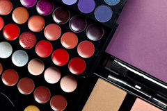 Make-up  palettes Royalty Free Stock Images