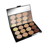 Make-up Pallet Stock Photography