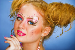 Make up for party Stock Photography