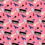 Make up pattern Royalty Free Stock Image
