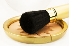 Make-up powder Royalty Free Stock Photography