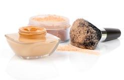 Make up powder Stock Photos