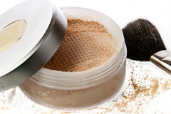 Make-up powder Stock Photography