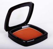 Make-up powder in box Stock Photo