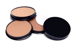 Make-up powders Stock Photography