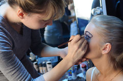 Make up preparation. Stock Photos