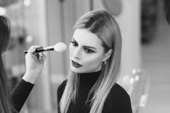 Make up process Stock Photos