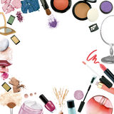 Make up products stock photography