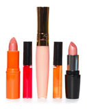 Make-up products. Cosmetics and make-up products Stock Image