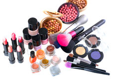 Make-up products Royalty Free Stock Images