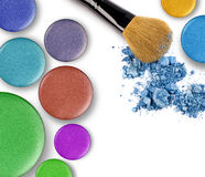 Make-up products Stock Photo