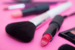 Make up products and tools Stock Photography