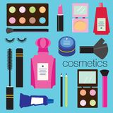 Make up products Royalty Free Stock Photography