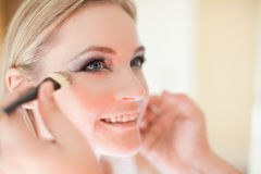 Make-up by a professional MUA Royalty Free Stock Photography