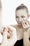 Make-up remover Royalty Free Stock Photo